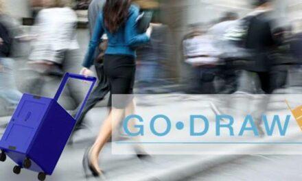 Go-Drawer innovadora maleta- cajonero!