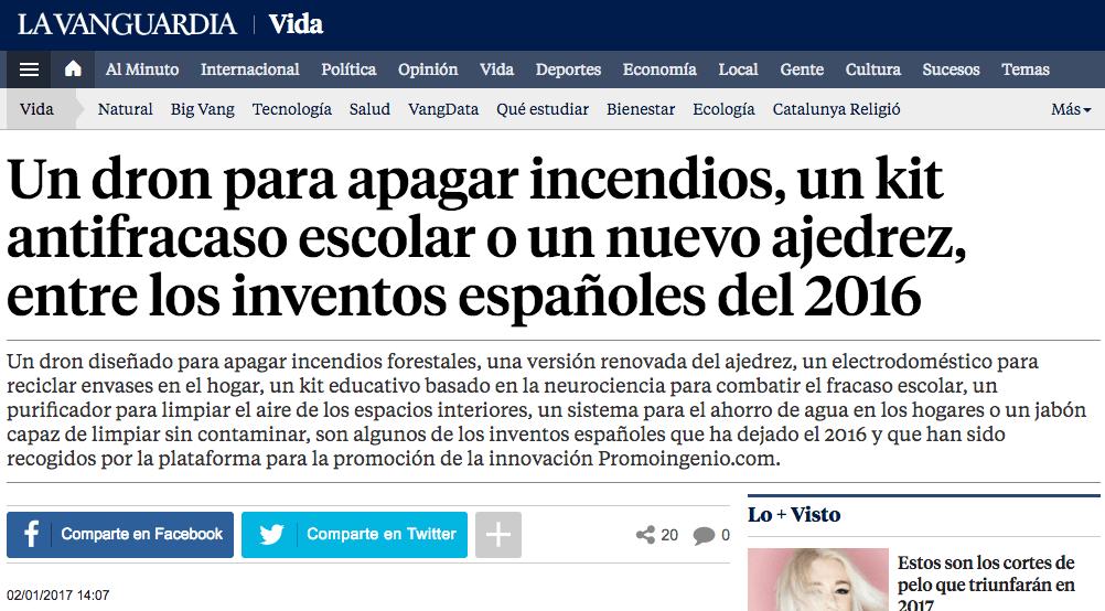 Estos son los mejores inventos españoles del 2016