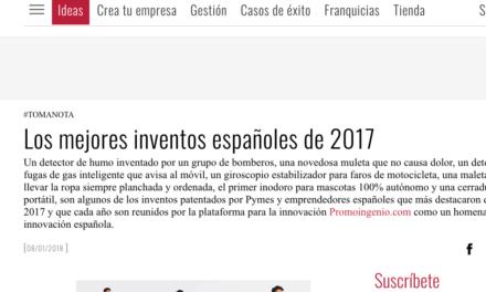 Los mejores inventos españoles de 2017
