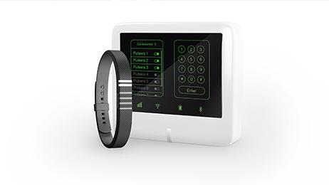 Secure Cor – Pulsera antiatraco por sensor biométrico