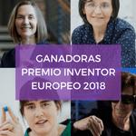 Las 4 mujeres ganadoras del premio al inventor europeo del 2018