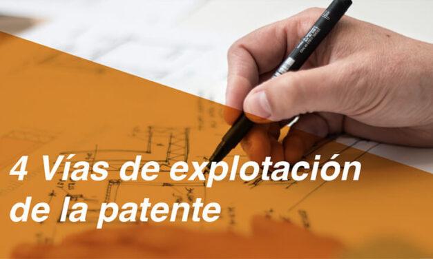4 Vías de explotación de la patente