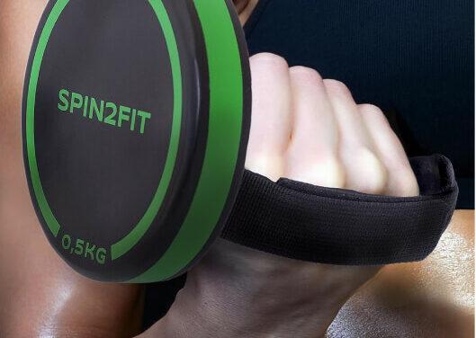 SPIN2FIT – Una mancuerna, tu entrenamiento completo